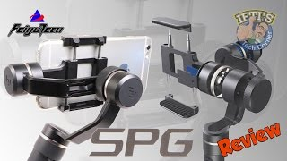 Feiyu-Tech SPG - 3 Axis iPhone / Smartphone Gimbal + Sample Footage : REVIEW