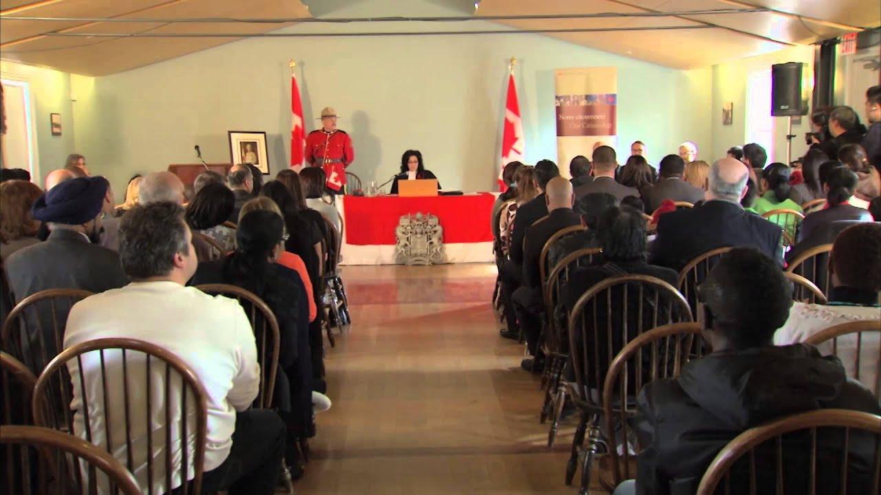 La C U00e9r U00e9monie De Citoyennet U00e9 Canadienne   Ce Que Vous Devez Savoir