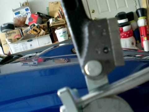 Ridgid 406 38 Tube Bender Bending Aluminum Youtube
