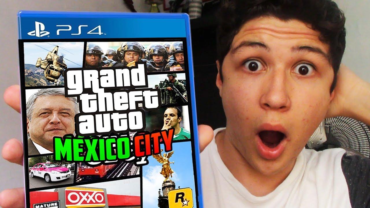 Juego Al Nuevo Gta V Mexico City Grand Theft Auto 5 Youtube