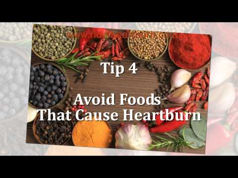 How To Stop Heartburn – 6 Easy Tips To Get Rid Of Heartburn