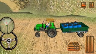 Farm Tractor Cargo Driving Simulator 19 Gameplay #3 screenshot 4