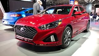 2018 Hyundai Sonata – Redline: First Look – 2017 NYIAS