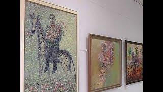 Выставка из фондов галереи «АЯ» открылась в школе рисования «Артмания»
