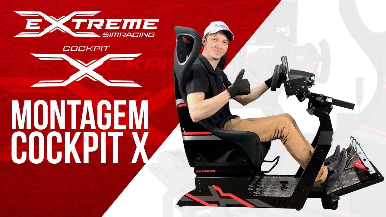 Cockpit X Extreme Racing - Montagem e Acessórios