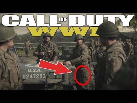 5 Things You Missed In The Official COD WW2 Story Trailer