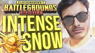 PUBG MOBILE INDIA: INTENSE SNOW MAP GAMES | WHITE GHILLIE HUNT!