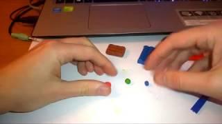 як зробити коричневий пластилін