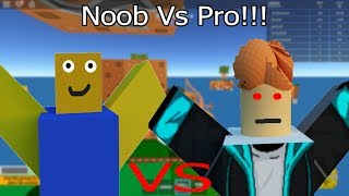 Noob Vs Pro In Skywars! (Roblox)