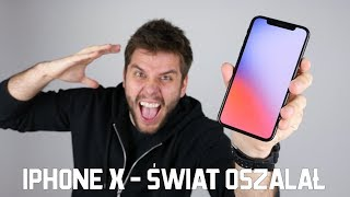 iPHONE X - ŚWIAT OSZALAŁ😲📲