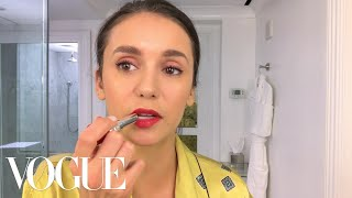 Nina Dobrev Does Her Day-To-Night Beauty Routine | Beauty Secrets | Vogue