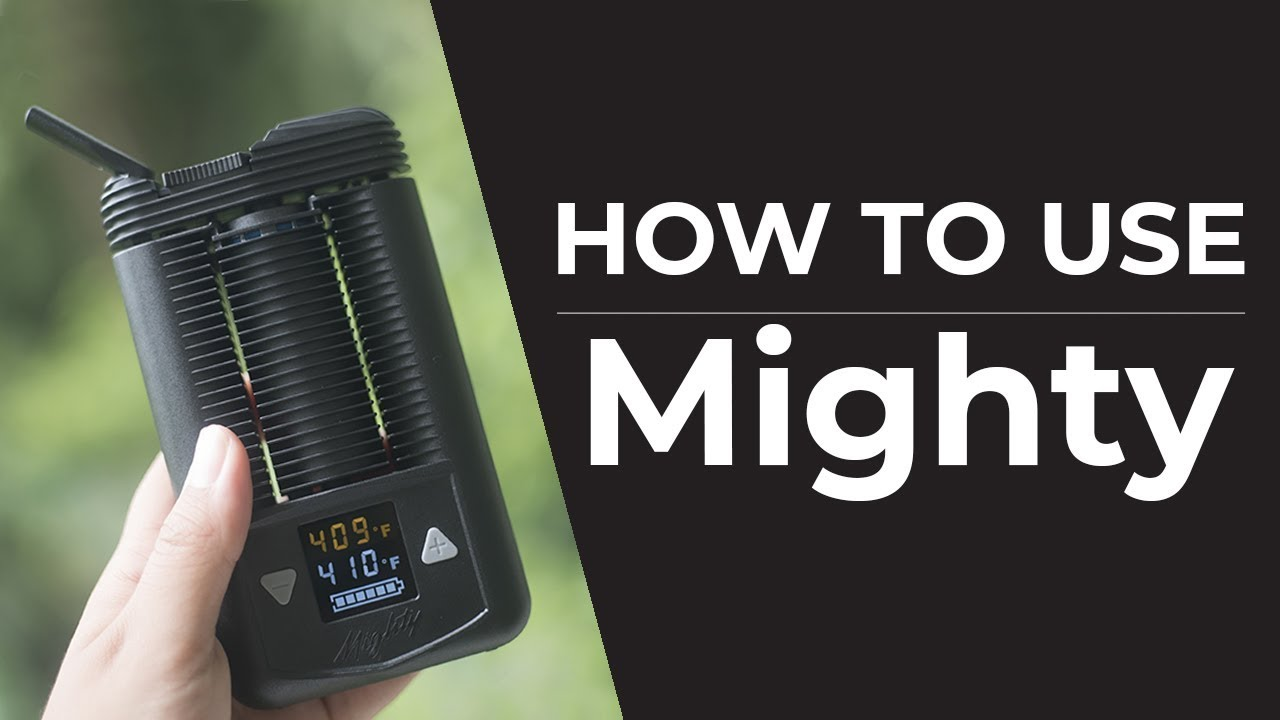 Mighty Vaporizer Quickstart Guide | How To Use Your Mighty Vaporizer
