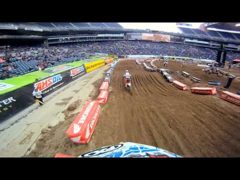 GoPro HD: Seattle Practice Monster Energy Supercross 2011
