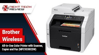Brother Wireless All In One Color Printer with Scanner, Copier and FaxProduct Review  – NTR