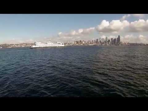 Boat Cruise of Elliott Bay, Seattle, Washington