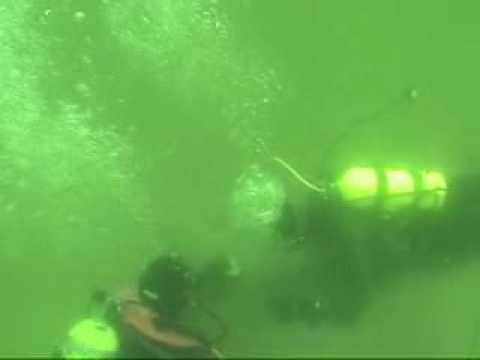 Maren Dives at Graves Island