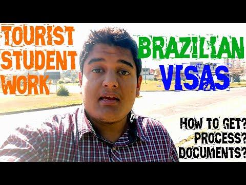 Brazilian Visas: Tourist, Student & Work Visas | Brazil Visa