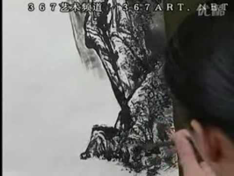 Zeng Gang 曾刚山水画 DVD Course of Chinese Landscape Painting (Disk 1-16)