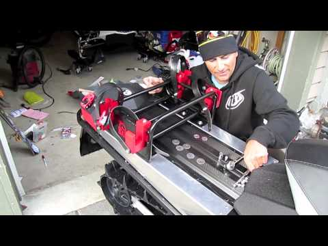 Ski Doo Com Cheetah Factory Racing Snowboard Rack Install