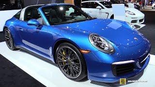 2016 Porsche 911 Targa 4S - Exterior and Interior Walkaround - 2016 Chicago Auto Show
