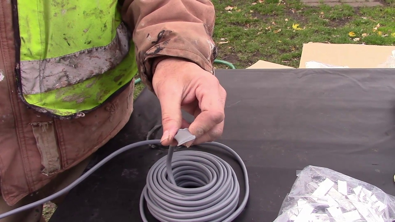 Wrap On Roof And Gutter Cable Ice Snow Melt Part 1