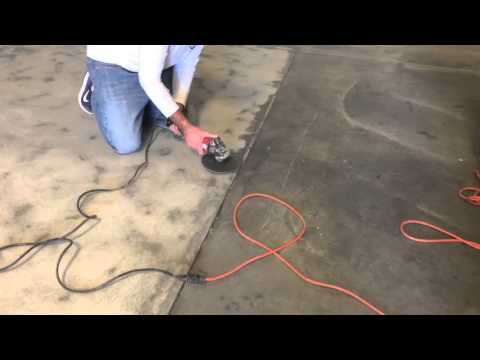 Metallic Epoxy Installation