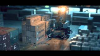 Maersk Line - Docks of Novorossiysk| Maersk Line - Порт Новороссийска(Video for Maersk Line branch office in Novorossiysk Music by His Boy Elroy., 2015-04-12T20:24:31.000Z)