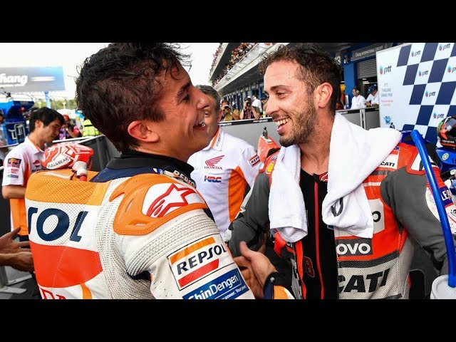 After the Flag: Marquez vs Dovi at the final turn yet again