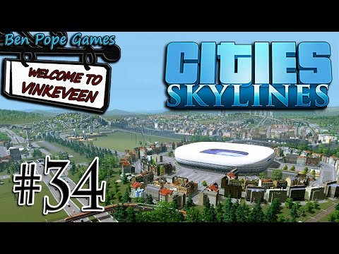 Cities: Skylines - (European Themed City) - #34 Custom Distr
