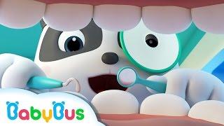 ♬なりきり パンダの歯医者さんごっこ アニメ | 病院 ごっこ遊び | 救急車 聴診器 注射 | 赤ちゃんが喜ぶ歌 | 子供の歌 | 仕事の歌 | アニメ | 動画 | BabyBus thumbnail