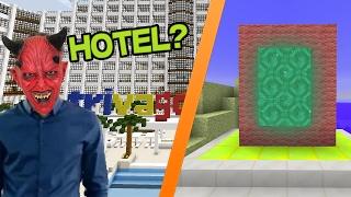 ¿HOTEL? TRIVAGO EN MINECRAFT (PARODIA) | DIMENSIONES #4