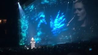 Adele live in philly I Miss you