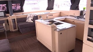 2017 Fountaine Pajot Ipanema 58 Catamaran - Deck Interior Walkaround - 2016 Annapolis Sailboat Show