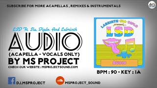 Download Lagu LSD - Audio (Acapella - Vocals Only) ft. Sia, Diplo, Labrinth Mp3