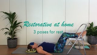3 restorative yoga poses without props