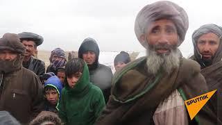 Ни еды, ни воды: как живут афганские беженцы в лагере под Кабулом