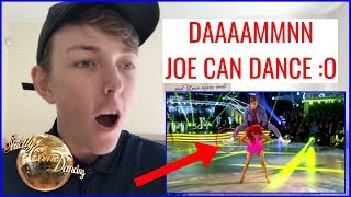 DANCER REACTS TO JOE SUGG STRICTLY COME DANCING 2018 WEEK 1 | Dancer Reacts To | MikeyMixTV