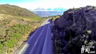 Fly over Lake Hawea and Lake Wanaka - #exploring New Zealand