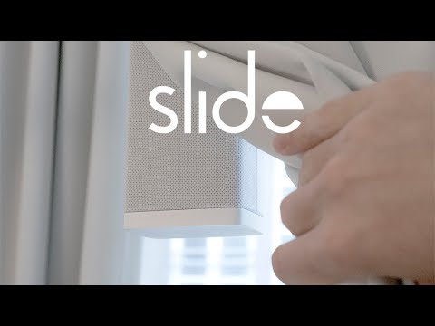 Slide: Smart Curtains, Simplified (Crowdfunding Video)