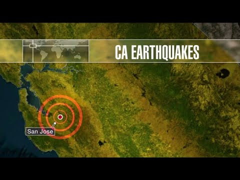 Two earthquakes shake Northern California in same night