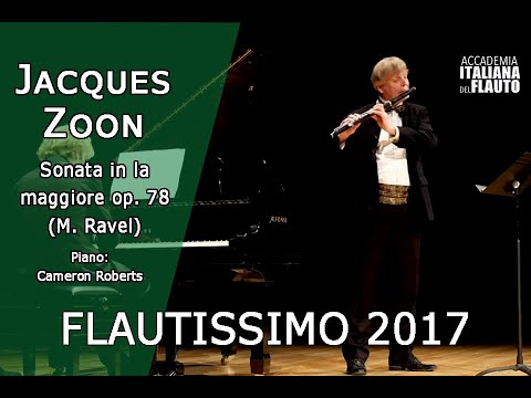 Jacques Zoon - Sonata in sol maggiore op. 78 di J. Brahms (1° mov.)