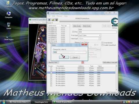 Como usar o Cheat Engine - Tutorial: Twitter: http://twitter.com/#!/Mekgameplays E-mail: matheus.mendes05@hotmail.com  (caso for entrar em contato, favor colocar o nome do vídeo em