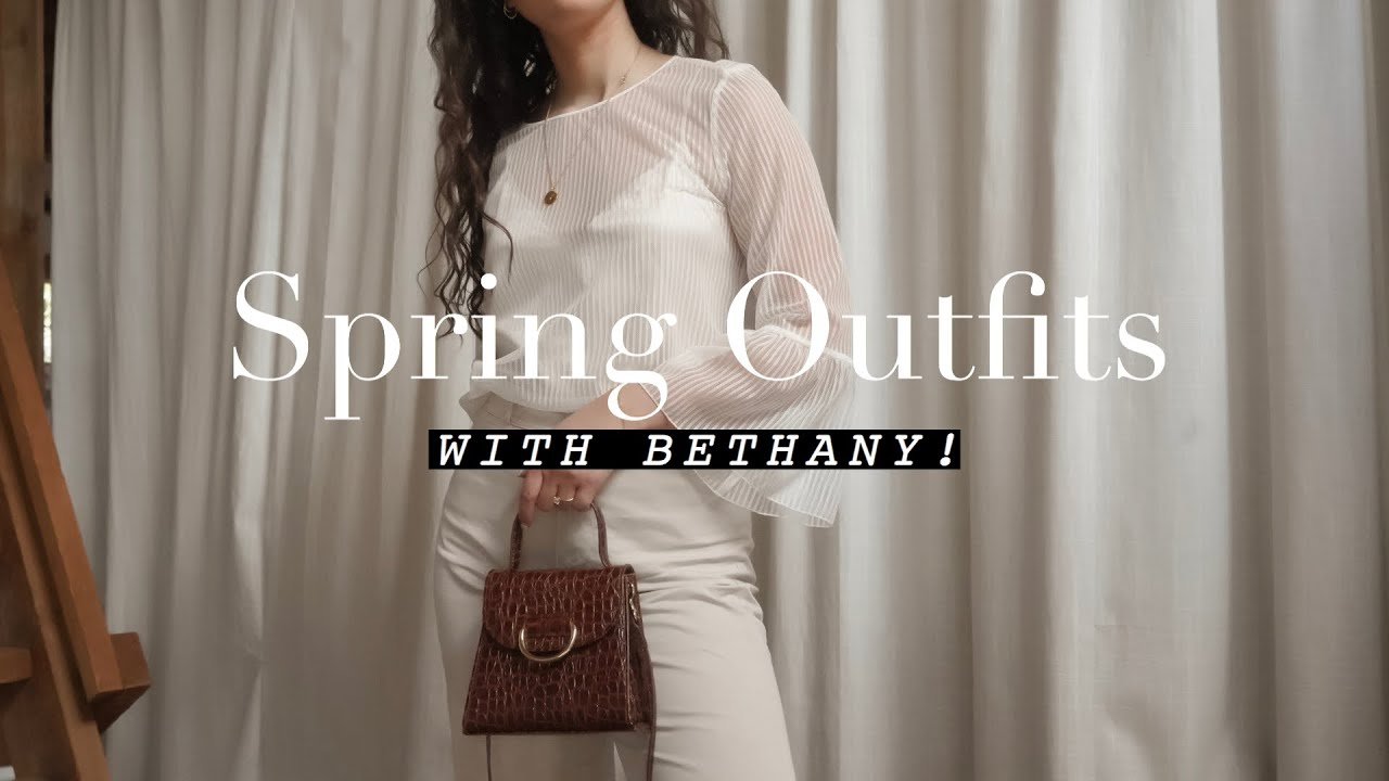 Spring Outfit Ideas 2019 with Bethany 2