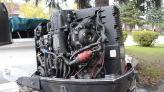 How to Winterize your Evinrude/Johnson Outboard!! EASY!