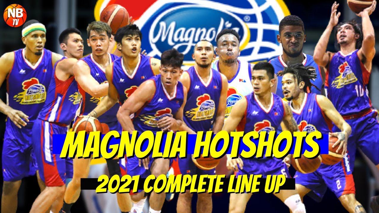 MAGNOLIA HOTSHOTS COMPLETE LINEUP 2021   PBA 2021   PBA OPENING JULY 16, 2021