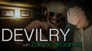 Devilry | *HORROR* w/ FACECAM | w/ ZackScottGames & Cate_Almighty || JustinBobcat