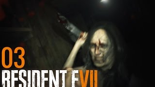 Resident Evil 7 #3 - Ehefurie-Kettensägen-Terror HD Bayrisch