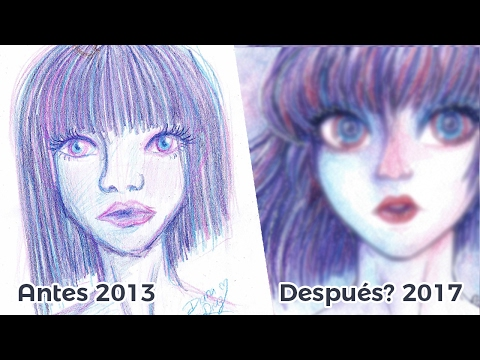 "Rehaciendo un Dibujo Antiguo ""Draw this again"" 