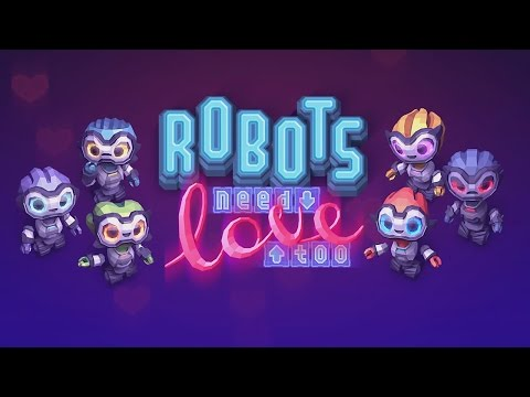 Robots Need Love Too (by Elephant Mouse LLC) - Universal - HD Gameplay Trailer