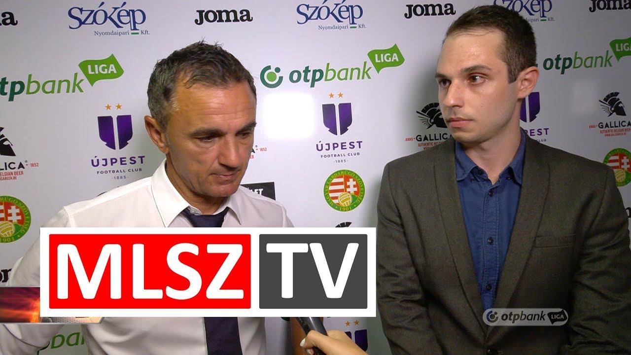 Edzői értékelések az Újpest FC – Ferencvárosi TC mérkőzésen